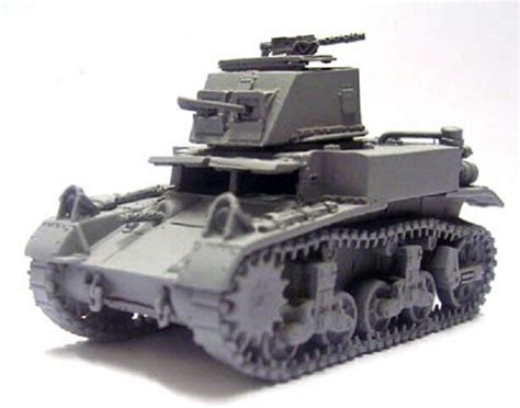 1/35 Commanders 1025 U.s. M2 Combat Car Tank Resin Model