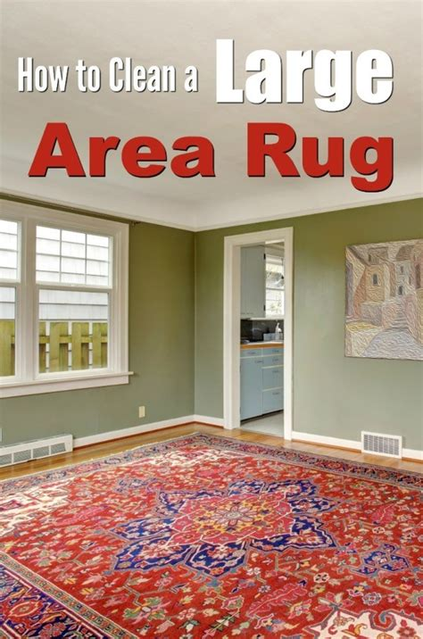 How To Make A Large Rug by Cleaning A Large Area Rug Thriftyfun