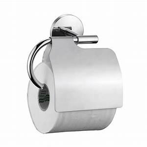 Leroy Merlin Toilette : d rouleur papier toilette acier avec couvercle suite ~ Louise-bijoux.com Idées de Décoration