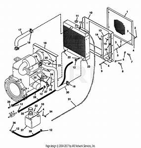 Gravely 52814 Promaster 400 22hp Diff  Lock Parts Diagram