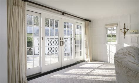 Large Glass Doors Residential, Anderson Sliding French