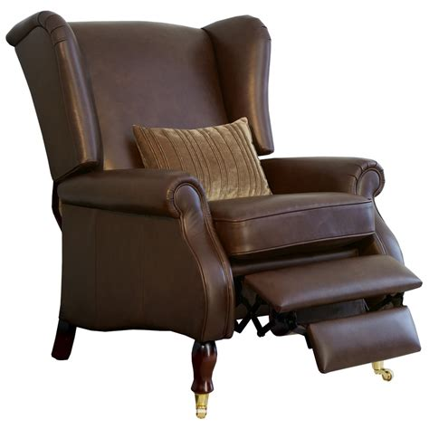 wingback chair leather wingback chair green leather upholstered