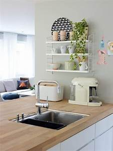 Inspiration de jolies etageres deco cocon de for Deco etagere cuisine