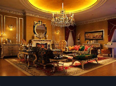 living room  royal interior  model cgtrader