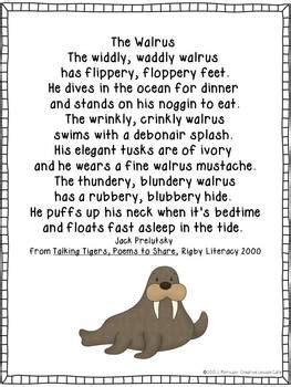 arctic animals poems  creative lesson cafe teachers