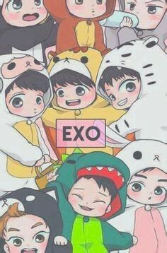 pin de melisa ordonez en kpop wallpapers exo chibi