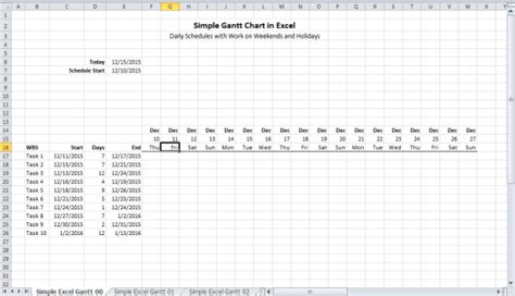 Simple Gantt Chart Template Excel 2010 by How To Create A Dynamic Gantt Chart In Excel 2010 How To