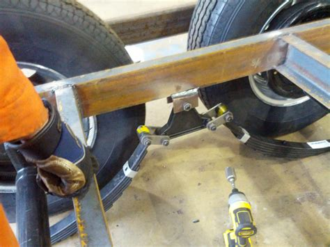 Boat Trailer Single Axle Alignment by Axles Jess And Tim S Tiny House