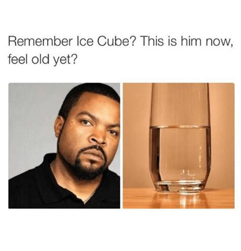 Ice Cube Memes - remember ice cube this is him now feel old yet ice cube meme on me me