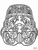 Wars Coloring Stormtrooper Star Pages Skull Sugar Skulls Printable Trooper Storm Line Adult Colouring Drawing Adults Supercoloring Simple Clipart Books sketch template