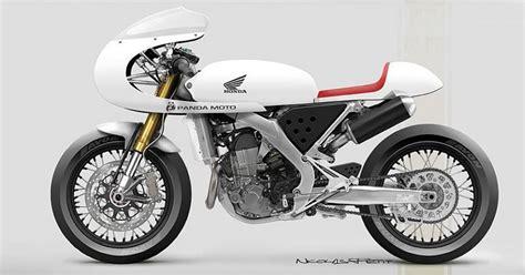 Poto Motor Balap by Trail Honda Berwujud Motor Balap Jadul Okezone News