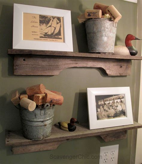 easiest pallet wood project  scavenger chic