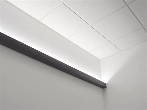 wall mounted cove lighting create a cove by solid state luminaires