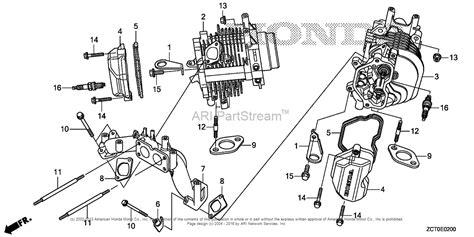 Honda Engines Gxvrh Qaf Engine Chn Vin Gjach