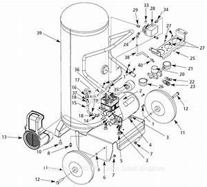 Campbell Hausfeld Wl8026 Parts Diagram For Air