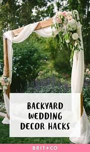 Backyard Wedding Images - Wedding Dress, Decoration And