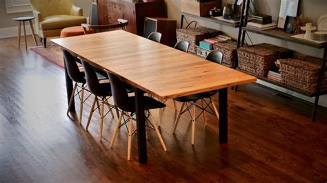 parsons style extension table  wood whisperer guild