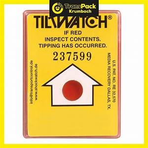 Das Rote Paket : tiltwatch kippindikator transpack krumbach ~ Markanthonyermac.com Haus und Dekorationen