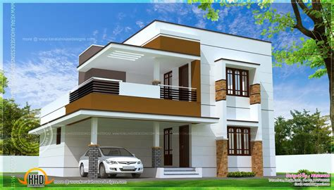 simple houseplans simple modern home design in 1817 square kerala