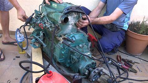 motor marino diesel volvo penta  youtube