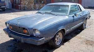 1977 mustang cobra for sale silver blue glow 1976 ford mustang ii ghia coupe mustangattitude com photo detail