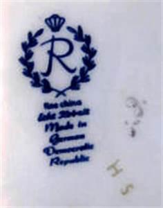 Keramik Marke Bestimmen : veb porzellanwerk reichenbach in reichenbach in deutschland im zeitraum ca 1981 1990 ~ Frokenaadalensverden.com Haus und Dekorationen