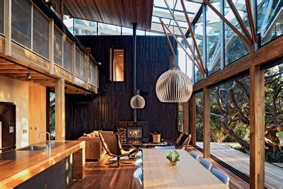 modern homes  nature architectural digest
