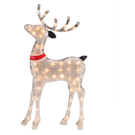 pre lit reindeer christmas decoration yard outdoor indoor xmas decor lighted 30 what 39 s it worth