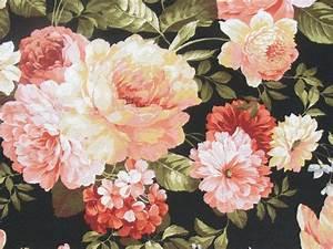 Stoff Mit Rosenmuster : rosen stoff vintage stoff deko stoff gardinen von leho textil 2009 auf pssst ~ Buech-reservation.com Haus und Dekorationen