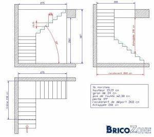Calcul Escalier Quart Tournant : calcul escalier un quart tournant ma onn ~ Dailycaller-alerts.com Idées de Décoration