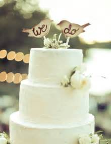 cake topper birds rustic wedding decor by by braggingbags