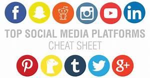 Top Social Media Platforms Cheat Sheet [Infographic ...