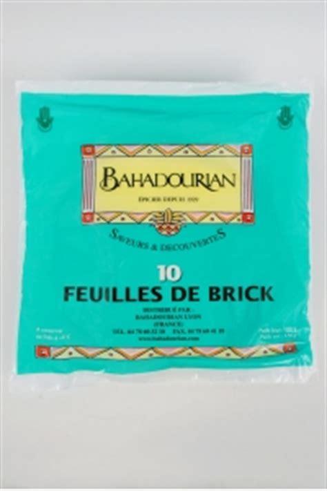 cuisiner des feuilles de brick feuilles de brick bahadourian feuilles de brick paquet