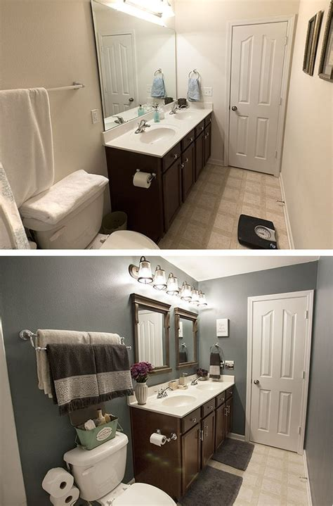 Small Bathroom Makeovers Cheap by Best 25 Small Bathroom Makeovers Ideas On