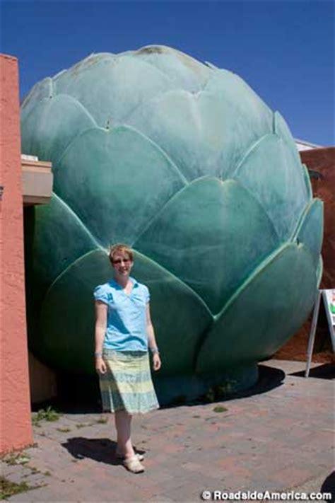 giant artichoke castroville california