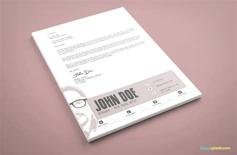 cover letter  cover letter template psd