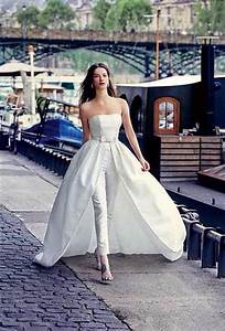 wedding fashion top 6 personality pants wedding dresses With wedding dress with pants