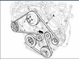 How Do I Change The Serpentine Belt On A 2012 Kia Sorento V6 3 5l