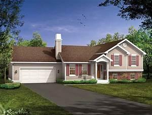 Split Level House Plans at eplans.com | House Design Plans