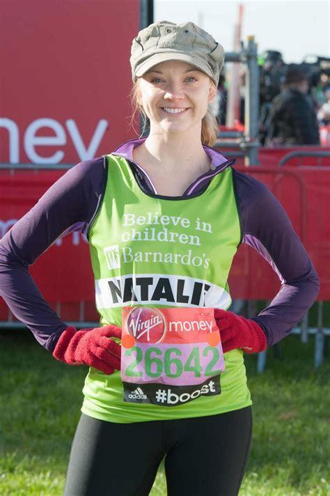 Natalie Dormer Marathon by Natalie Dormer At The Marathon Celebzz