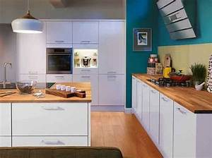 Cuisine Bleue Ikea : deco cuisine bleu mur briques cuisine ikea cuisine bleue leroy merlin lorsque quu0027une ~ Preciouscoupons.com Idées de Décoration