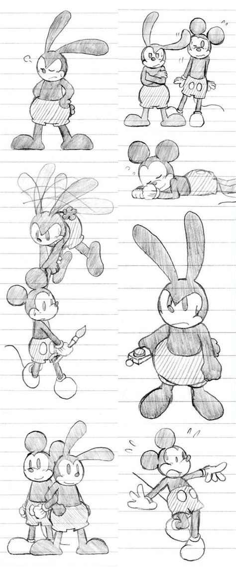 Epic Mickey Doodles Epic Mickey Disney Epic Mickey