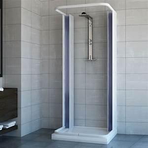 Duschkabine 3 Seiten : duschkabine dusche duschabtrennung duschwand faltwand u form faltt r 3 seiten ebay ~ Sanjose-hotels-ca.com Haus und Dekorationen