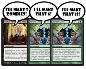 Green White Token Deck Mtg Standard by Magic Standard Deck Green Zombies Nurgleprobe