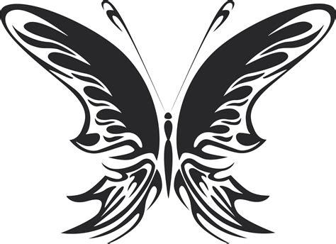 tribal butterfly vector art  dxf file