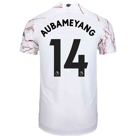 2020/21 adidas Pierre-Emerick Aubameyang Arsenal Away ...