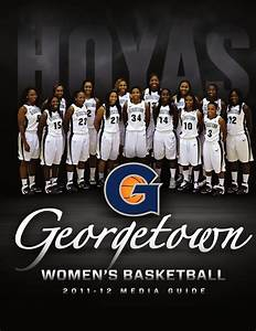 2011-12 Georgetown Women's Basketball Media Guide by ...