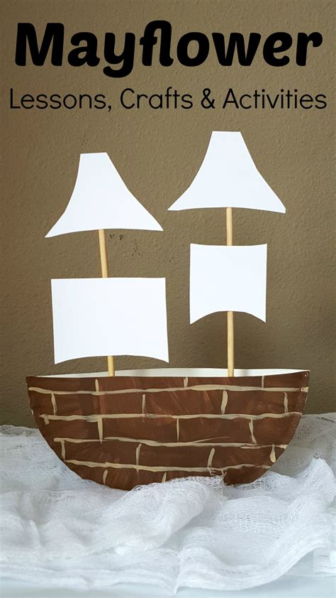 mayflower paper plate craft amp projects for 426 | Mayflower Crafts Lessons and Activities