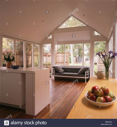 contemporary open plan kitchen living room modern white open plan kitchen and living room extension 9455