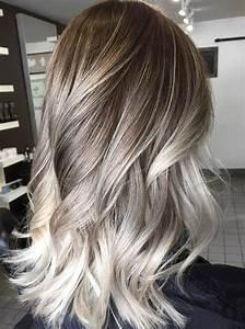Platinum Blonde Highlights On Dark Blonde Hair 60 Balayage ...